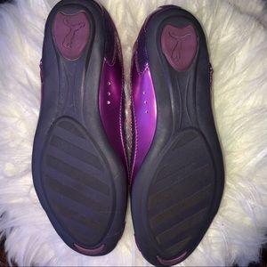 Puma Shoes - Puma Bixley Glamm Flats Purple & Pink